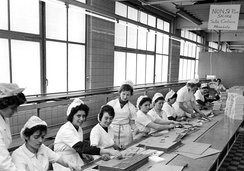 Italian workers in Cologne in 1962