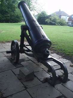 Russian Crimean War Cannon from Sevastopol in South Park