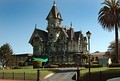 The Carson Mansion in Eureka, California, widely considered one of the highest executions of American Queen Anne Style, built 1884-86