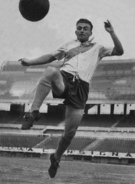 Di Stéfano with River Plate in 1940.