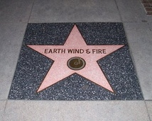 Earth, Wind & Fire star on the Hollywood Walk of Fame