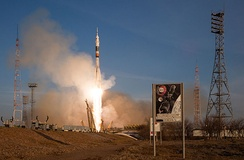 The Soyuz TMA-19M mission lifts off to the ISS on 15 December 2015