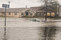 Flooding in Crisfield, Maryland