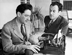 George S. Kaufman and Moss Hart in 1937