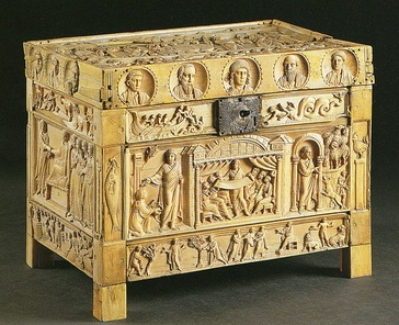 The Brescia Casket, 4th-century ivory