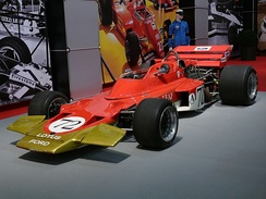 Lotus Ford won the International Cup for Formula 1 Manufacturers