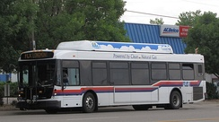 FLEX bus powered by CNG