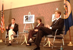 Major party candidates: Kennedy, Klobuchar, and Fitzgerald.