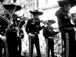 Typical Mariachi of Jalisco.