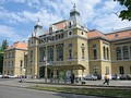 Szeged Railway Station.