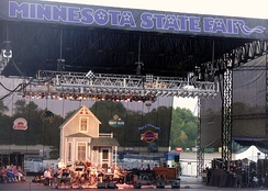A Prairie Home Companion live at the grandstand in 2008