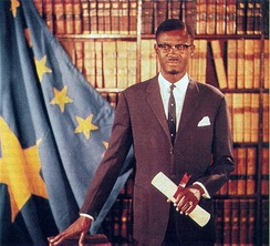 Patrice Lumumba, first democratically elected Prime Minister of the Republic of the Congo (Léopoldville), was murdered by Belgian-supported Katangan separatists in 1961