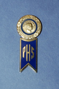 Paul Harris Fellow Pin and Paul Harris Society Hanger