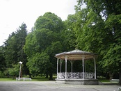 The bandstand in Maribor City Park