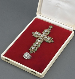 Pope Paul VI's Diamond Ring and Cross donated to the United Nations