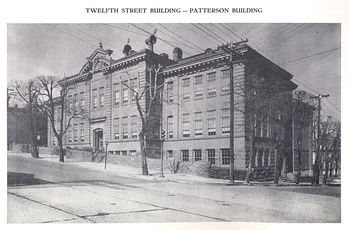 The Patterson Building served as the Pottsville Area High School from 1916 to 1933[5]