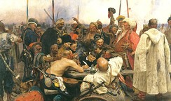 Cossacks became the backbone of the early Russian Army.