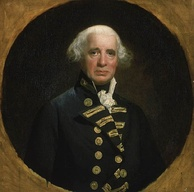 Admiral Lord Richard Howe proposed the conference and represented the British.