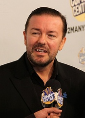 Ricky Gervais, Outstanding Lead Actor in a Comedy Series winner