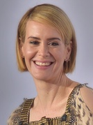 Sarah Paulson won for her portrayal in The People v. O. J. Simpson: American Crime Story (2016).