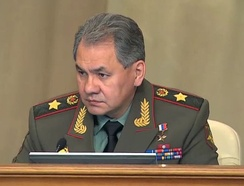 Russia's Defense Minister Sergey Shoygu. His father was Tuvan, while his mother was Russian.
