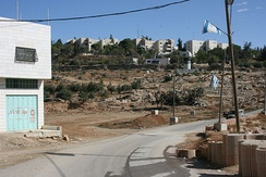 Road to Kiryat Arba, Hebron, 2010