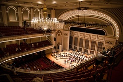 Springer Auditorium at the Cincinnati Music Hall.