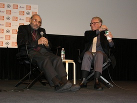 Donen with Mike Nichols at a 2010 Lincoln Center retrospective