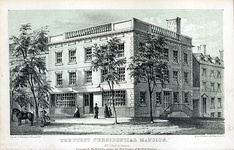 First Presidential Mansion: Samuel Osgood House, Manhattan, New York. Occupied by Washington: April 1789 – February 1790.