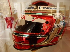 Trulli's helmet from the 2009 season
