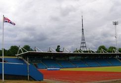 Crystal Palace in London.  One of the venues for the series.