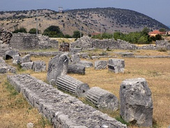 Ancient Roman city Doclea.