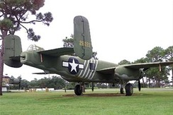 B-25J 43-28222 at Hurlburt Field, Florida