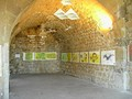 The interior of a casemate at Grenoble