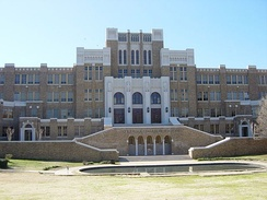 Little Rock Central High School, Little Rock, Pulaski County, Arkansas, site of the first important test for the implementation of the U.S. Supreme Court's historic Brown v. Board of Education decision of 1954