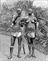 From approximately 1700 through 1900, women served as soldiers for the kingdom of Dahomey.