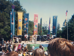 The Doors performing at Fantasy Fair and Magic Mountain Music Festival in 1967