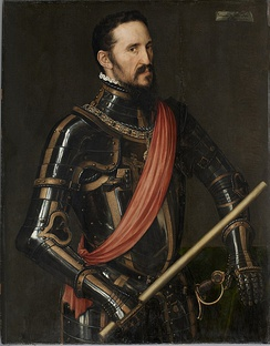 The Duke of Alba in 1549 by Anthonis Mor