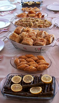 A sample of Turkish cuisine