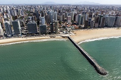 Fortaleza, capital of Ceará state, is one of the top destinations for business and also for a holiday on its amazing beaches.