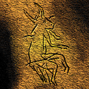 Picture of a half-animal half-human being in a Paleolithic cave painting in Dordogne, France which archeologists believe may provide evidence for early shamanic practices