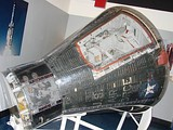 Gemini 2 spacecraft on display at the Air Force Space and Missile Museum, Cape Canaveral Air Force Station, Florida.