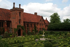 Hatfield House, where Elizabeth lived during Mary's reign