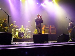 The Jesus and Mary Chain performing in California in 2007
