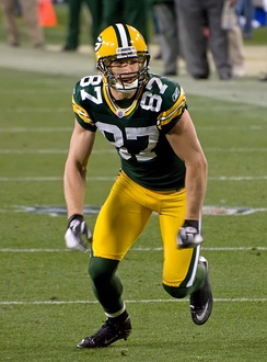 Jordy Nelson, who tore his ACL in the 2015 preseason, and would go on to be the NFL Comeback Player of the Year the following 2016 season upon returning from his injury