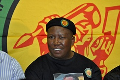 On 12 September 2011, Julius Malema, the youth leader of South Africa's ruling ANC, was found guilty of hate speech for singing 'Shoot the Boer' at a number of public events.[192]