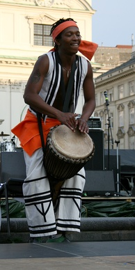 A musician from South Africa