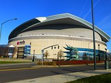 Portland's Memorial Coliseum, home of the Blazers from 1970 to 1995