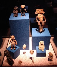 Figurines at the local museum
