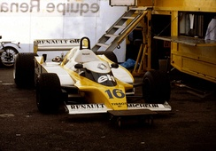 In 1979, the Renault RS10 became the first turbocharged car to win a Grand Prix.